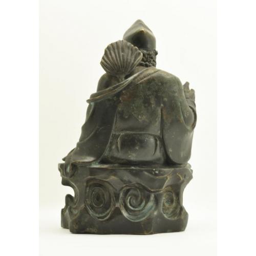 """""""Счастливый"""" бронза XIX век Китай"""