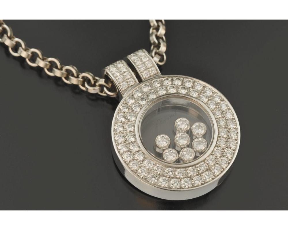 КОЛЬЕ CHOPARD золото 750 пробы Бриллианты 3 к