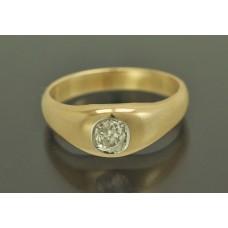 КОЛЬЦО золото 585 пробы БРИЛЛИАНТ 0,45 к