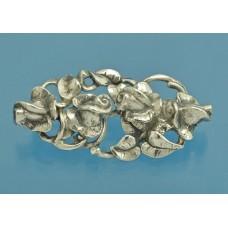 Винтажная БРОШЬ серебро 835 пробы Розы