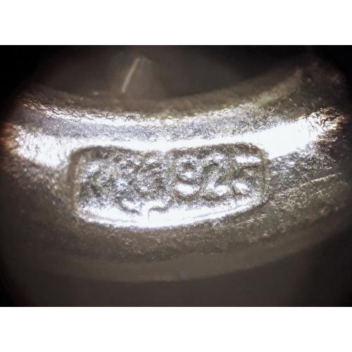 БРАСЛЕТ Бисмарк серебро 925 проба 23 см Россия