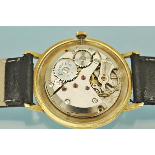 Винтажные ЧАСЫ DUGENA золото 585 пробы Германия 60-е годы
