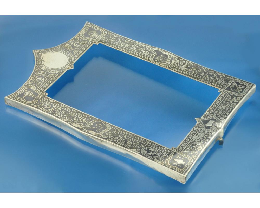 РАМКА для фотографий серебро чернение