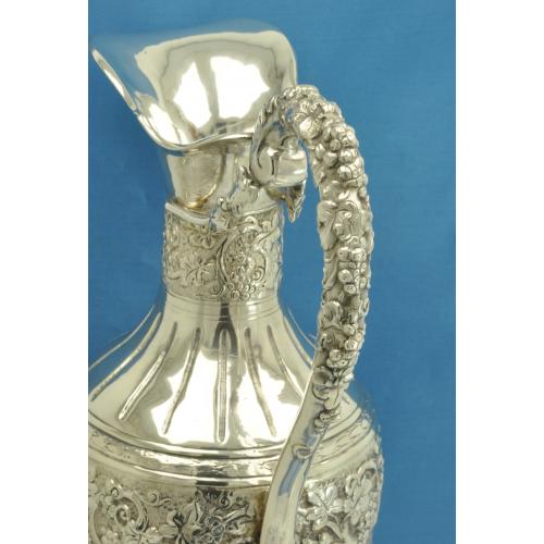 Старинный КУВШИН серебро 800 пробы Германия