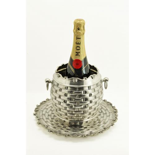 ВЕДЕРКО для шампанского серебро 900 пробы