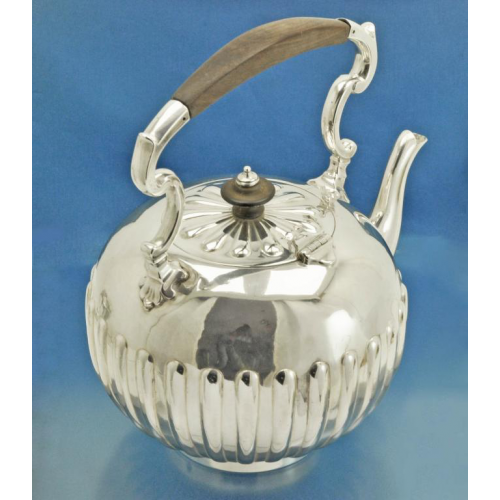 Старинная БУЛЬОТКА серебро Sterlling Англия